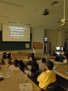 第一回学術総会(2011年 於:東京農大)