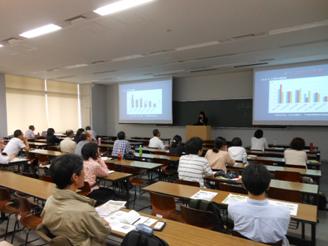 昨年の学術総会の様子(2012年6月:東京農業大学)