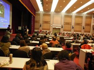 台北市立図書館での講演会