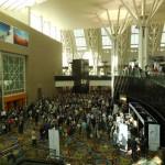 IUFRO 会場の様子。毎日千人前後の方が参加する大規模な大会です。