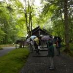 保健保養地の発祥となった、森の中の教会 (軽井沢町)