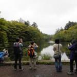 雲場池での散策(軽井沢町)