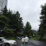 リハビリで鹿教湯温泉を訪れたご夫妻