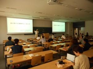 2015年度の学会風景(東京農業大学)