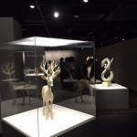 クスノキを材料に使った、土屋仁応さんの作品。