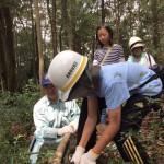 森林の整備活動(ながさき県民の森)