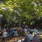 森の中での演奏会(ながさき県民の森)