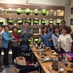 台湾森林保健学会のみなさんと。