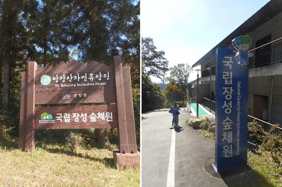 韓国の保健休養林(国定)